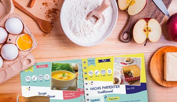 Créer un livre de recettes personnalisé en classe : une bonne idée