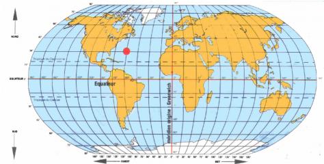 carte du monde avec latitude et longitude Se repérer : latitude et longitude   Le blog d'Initiatives