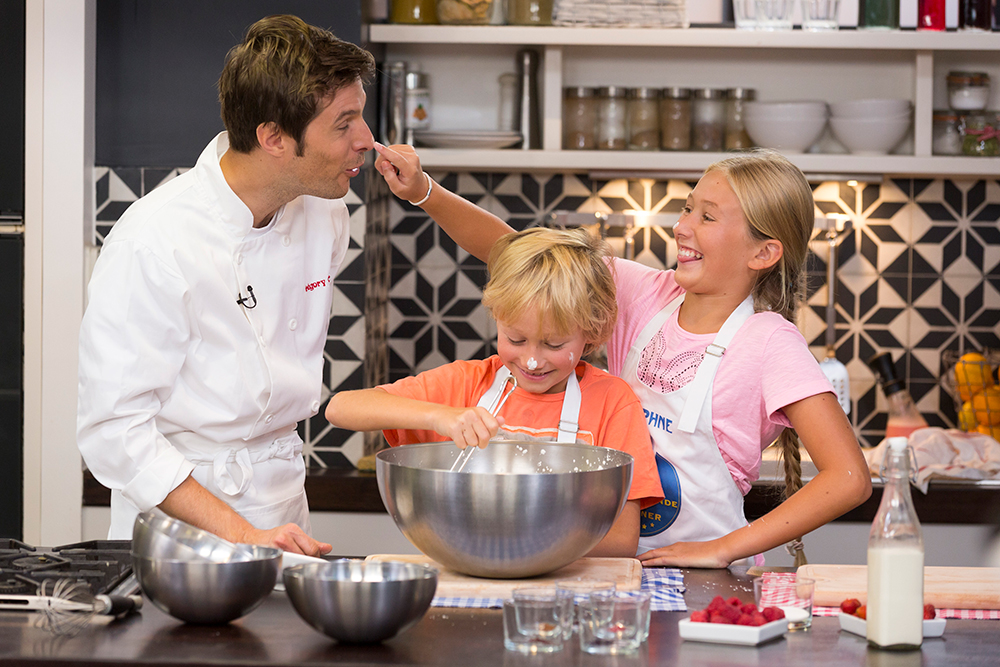 livre de cuisine avec les enfants