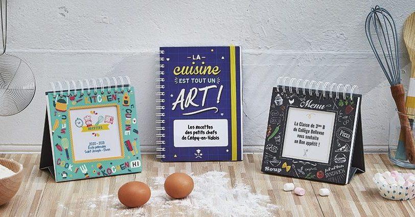 Livres de recettes personnalisés par les enfants