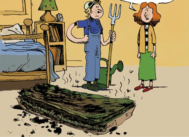Le jardin lasagne