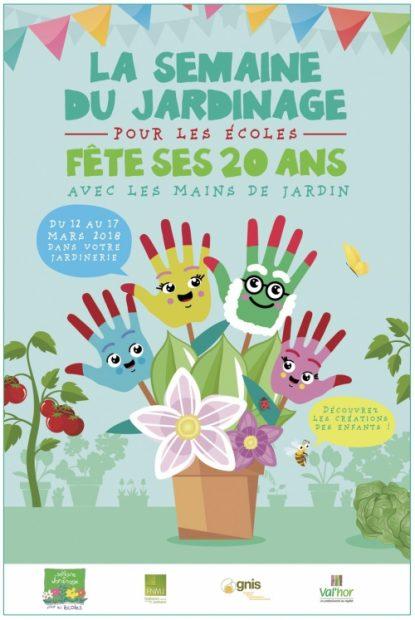 Semaine du jardinage à l'école, du 12 au 17 mars 2018