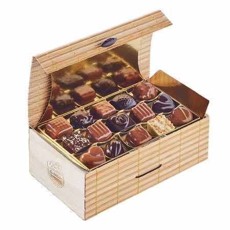 Vente de chocolats solidaires Ales Olivier