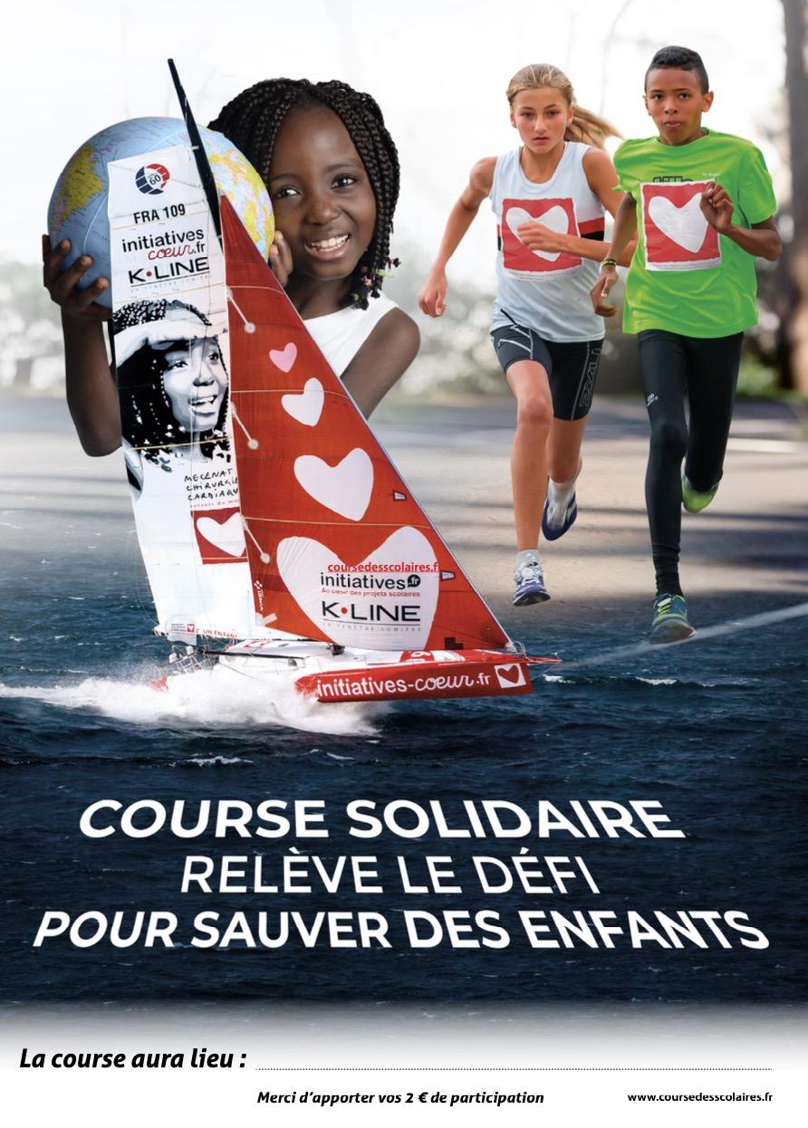 Affiche course solidaire