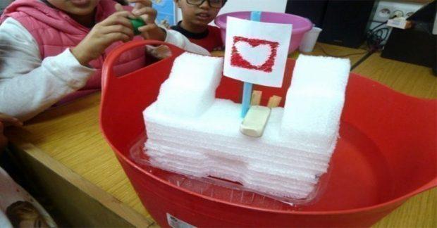 Fabriquer un objet flottant (OFNI)
