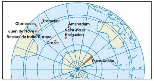 Terres australes et antarctiques françaises [GEO]