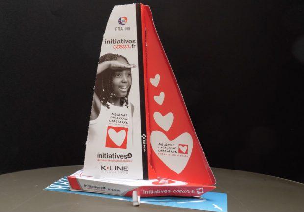 La maquette du bateau initiatives-cœur