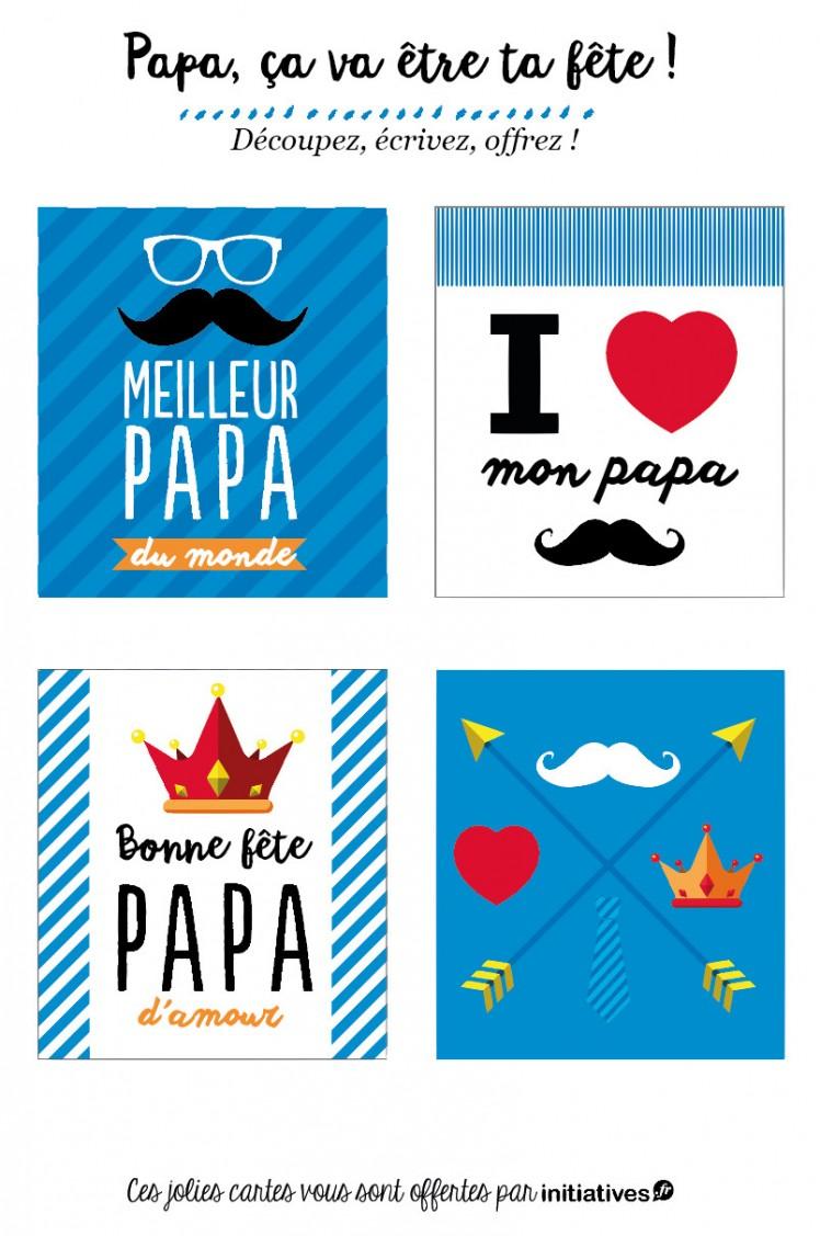 cartes pour la fête des pères