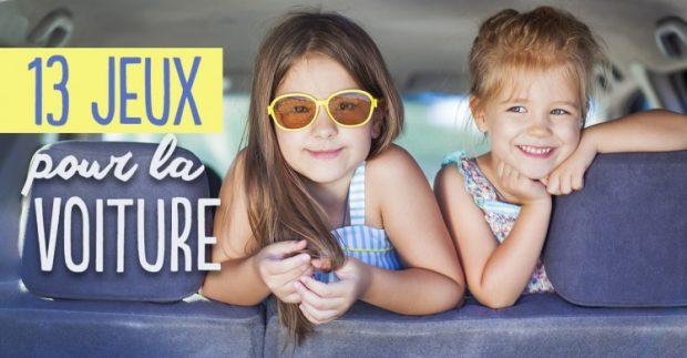 Comment occuper les enfants en voiture ? 13 jeux à faire en famille !
