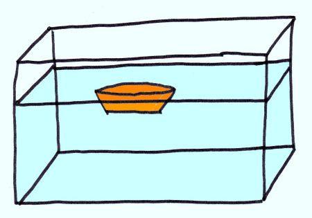 Vérifier la flottabilité d'un objet