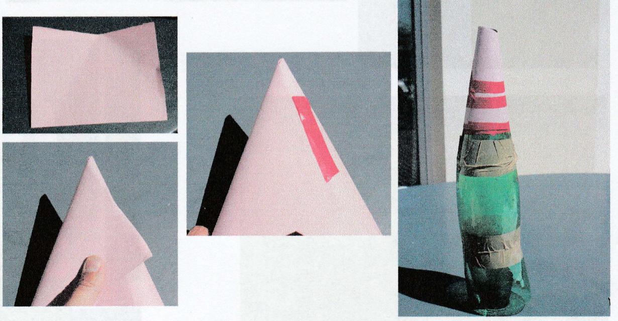 fabrication de la fusée à eau : étape 3