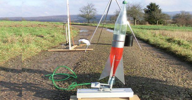 Fabrication d'une fusée à eau
