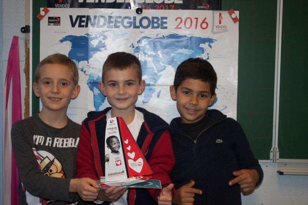 les élèves de l'école de Fontenay sous Bois parviennent à récolter 2000€