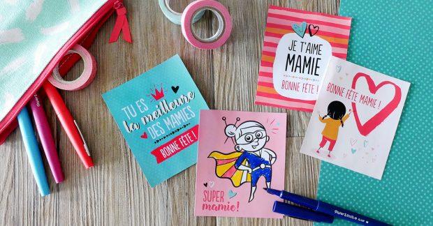 [Cartes offertes] Mamie, ça va être ta fête !