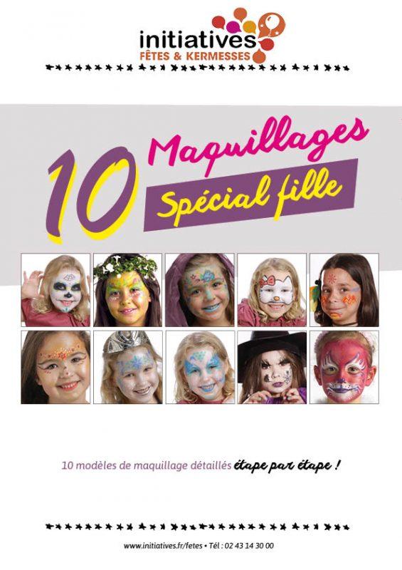 Livret de maquillage spécial fille - 1ère page