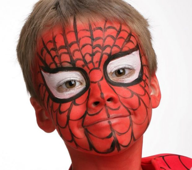 Maquillage_Spiderman3
