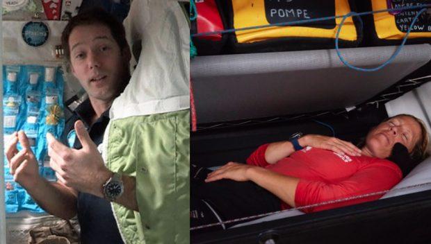 Le sommeil du navigateur, de l'astronaute et de l'enfant