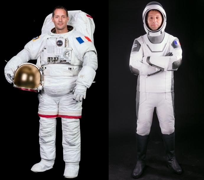 Thomas Pesquet vie à bord de l'ISS