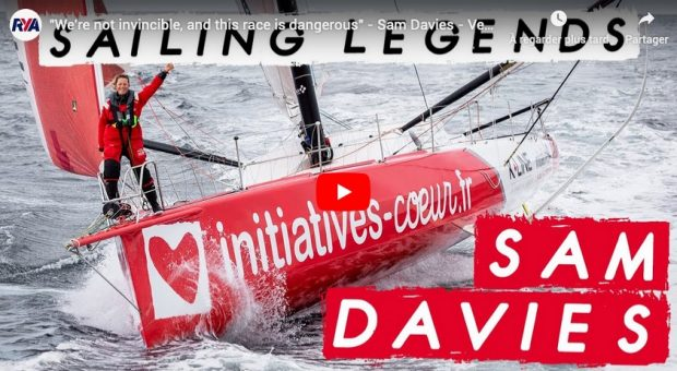 Sailing legends: Samantha Davies