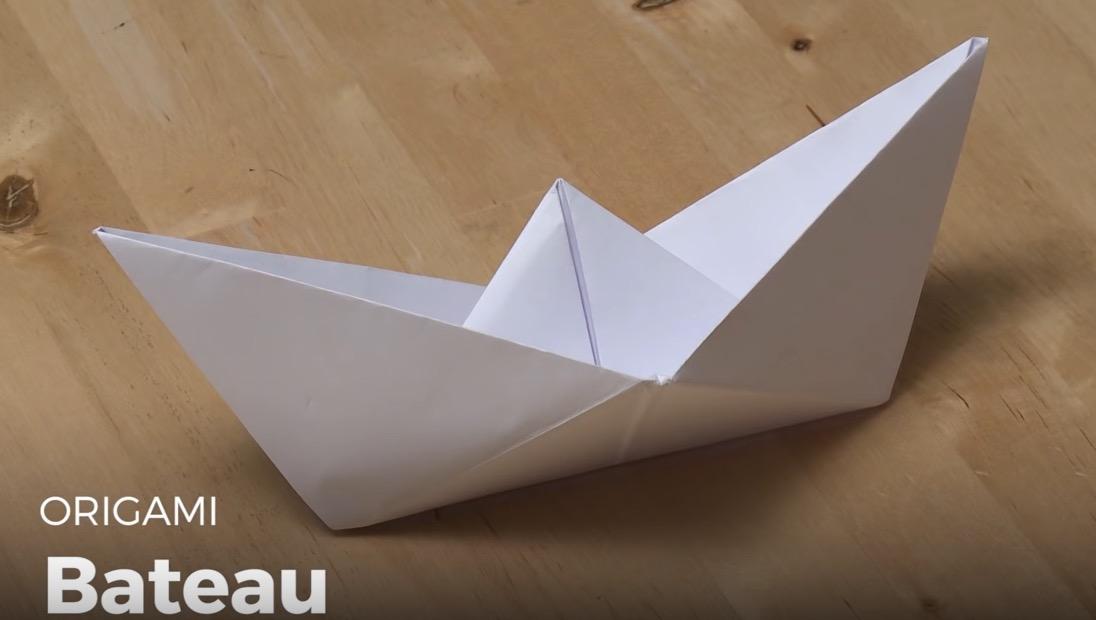 Bateau En Origami Le Blog D Initiatives