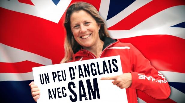 Apprendre l'anglais avec Sam Davies